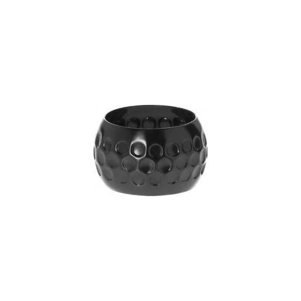 Serrviettering Onyx schwarz,5cm
