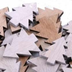 Tannenbaum aus Holz zim streuen