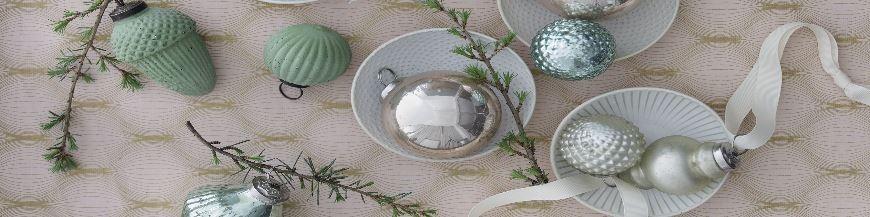 Christbaumschmuck Silber